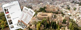 Audio guide Granada-Alhambra + Ticket