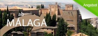 Alhambra Tour ab Málaga