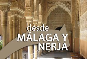Visitar la Alhambra desde Málaga y Nerja