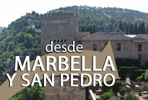 Visite Guidée de l`Alhambra avec Billets d`entrée et Guide; Depuis Marbella, San Pedro