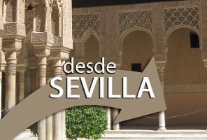 Tickets für die Alhambra mit lokaler Führung und Reiseleiter + Transport ab Sevilla