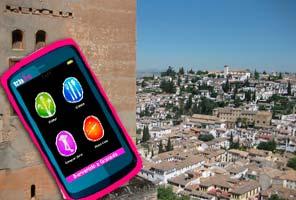 Alhambra Eintrittskarten + GPS Tourist Navigator