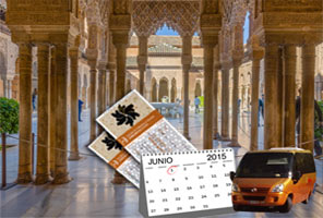 Alhambra Sale: Tickets in Advance with Guide and Transport