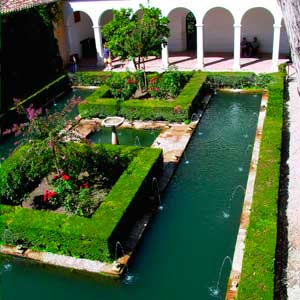 ALHAMBRA THEMED VISITS:   The connquest of the Water