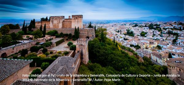 Markus Wolf zeigt Fotografien zur Alhambra