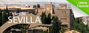 Visitar la Alhambra desde Sevilla