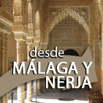 Alhambra Tour with Tickets and Expert Guide from Malaga and Nerja