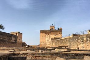L'Alhambra, jardins du Generalife, du Partal, du Palais de Charles Quint et  l'Alcazaba.