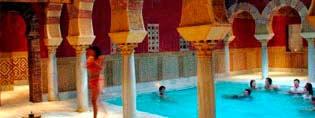 Visite Guidée de l`Alhambra + Bains Arabes
