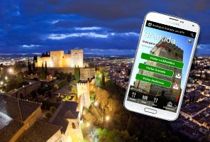 Audio guide for Granada and the Alhambra with GPS