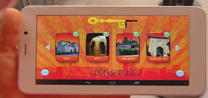 "Alhambra Audio Guide Story for children in 3D. ""The Alhambra. The Red Castle"""