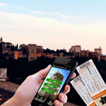 Audio Guide of Granada and the Alhambra + Alhambra Ticket (AFTERNOON)