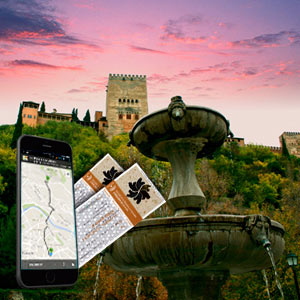 Audioguía de Granada y la Alhambra + Ticket Alhambra (TARDE)