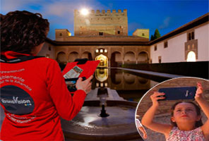 Audioguía de la Alhambra + Ticket Alhambra (TARDE)